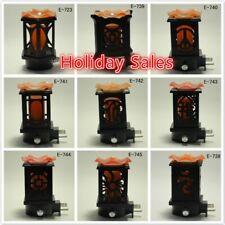 Wooden Electric Scent Oil Diffuser Warmer Burner Aroma Fragrance Night light