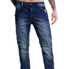 Shine original señores denimvintage Jeans Hose Oliver azul Anti Fit tapered Legs