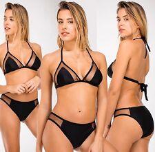 Frauen-Badebekleidung Top sexy Bikini Dreieck Ausschnitt Tüll t.sml oder XL