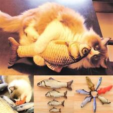 Peluches de poisson artificiel Chien Jouets pour chien Mint Catnip