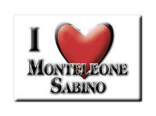 CALAMITA LAZIO FRIDGE MAGNET MAGNETE SOUVENIR LOVE MONTELEONE SABINO (RI)