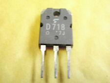 TRANSISTOR 2SD718 NPN NF 120V 8A 80W 12Mhz   15418-117