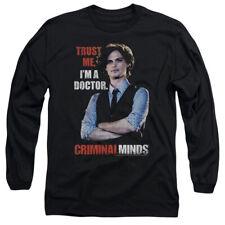 CRIMINAL MINDS TRUST ME T-Shirt Men's Long Sleeve