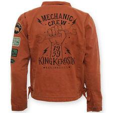 King queroseno worker chaqueta-mecánico Crew 1959 óxido marrón