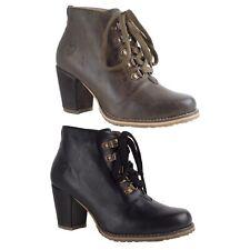 Irmtraud Stiefel Nubuk gespeckt rustik vintage schwarz Stiefeletten Trachten NEU