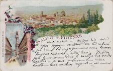 # FIRENZE: SALUTI DA...1900