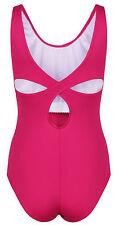 Ladies Tactel Fashion Leotard Dance Ballet - DL007 | Pink