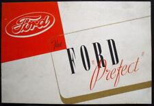 "Neuf ford ""escort"" berline & touring car sales brochure 1938/39 #V8272/938"