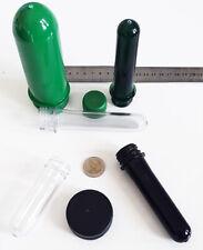 Geocaching Petlinge Preform Petling Tube Plastikröhrchen Schraubverschluss Cache