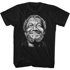 REDD FOXX SMILE FRED BLACK Men's Adult Short Sleeve T-Shirt