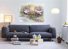 3D White Bird 975 Wall Stickers Vinyl Murals Wall Print Deco AJSTORE UK Lemon