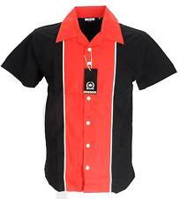 Rockabilly Bowling Black/Red  shirts Vintage/retro Shirts