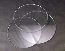 Clock Face Glass / Round Flat Clock Glass / Replacement Round Clock Glass