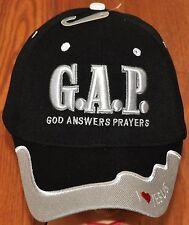 God Answers Prayers Hat Ball Cap I Love Heart Jesus Pink Camo Christian