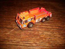 1982 Matchbox Fire Engine Acceptable Condition Vintage Die Cast Vehicle #4 Nice