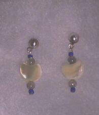 MOP Half Moon Earrings