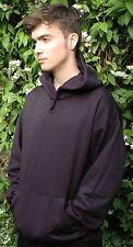 Plain Navy Sweatshirt Hoodie Casual Sport Leisure  by DAVID LUKE UK Made in UK
