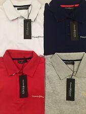 Cesare Paciotti Polo Hommes Taille S-XL 4 Couleurs Blanc Gris Rouge Bleu Prix Recommandé 89,95 €