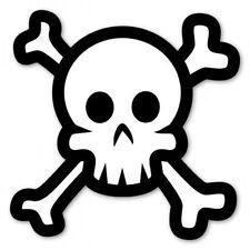 Crossbones Skull Stying Car Vinyl Sticker - SELECT SIZE