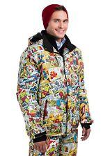 Marvel Comic Print Snow Jacket