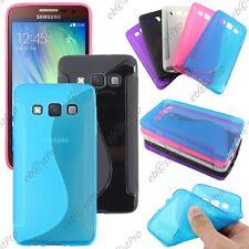 Housse Etui Coque Silicone Motif S-line Gel Souple Samsung Galaxy A3 SM-A300F