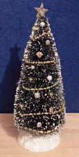 1/12 dolls house miniature Christmas HMade Tree & Decorations Xmas Decorated LGW