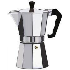 Espresso STOVE Top COFFEE MAKER-CONTINENTAL MOKA A FILTRO POT - 2, 6, 9, 12