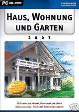 Haus, Wohnung & Garten Version 2007 Deutsch XP Erstellen Sie Ihr Traumhaus am PC