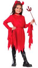 Girls Devil Tutu Classic Halloween Costume