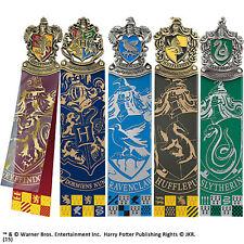 Official Harry Potter Hogwarts House Crest Banner Bookmarks Noble Film Gift