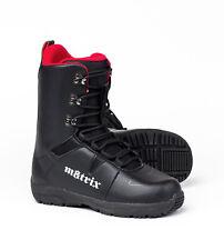 Matrix 580 Snowboard Boots - Liner-Less, Waterproof, Comfortable, Sizes 7-13
