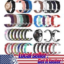 US Silicone Watch Band Wrist Strap For Samsung Galaxy Watch 42mm 46mm Gear S3 ol