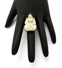 Brand New King Tut Style Piece Hip Hop Fashion Stretch Ring FXR58