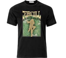 Jethro Tull Vintage Style Rock T Shirt Black