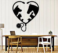 Vinyl Wall Decal Animal Pet Veterinary Medicine Interior Decor z4639
