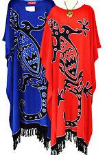 New GECKO Soft Kaftan Dress Maxi Long Tunic One Size Plus Size Clothing Womens