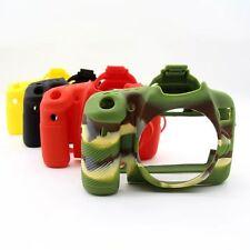 Silicone Rubber Protective Body Cover Case Skin For Canon EOS 70D Camera Bag