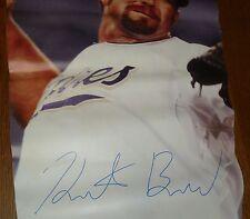 Heath Bell Signed 2010 Padres Stadium Banner PSA/DNA COA Auto'd 3'x9' Petco Park