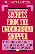 Secrets From the Underground Shopper TPB Sue Goldstein
