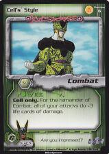 Cell's Style DragonBall CCG DBZ TCG