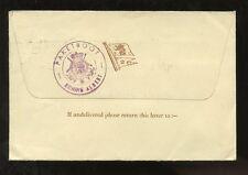 SHIP MAIL 1953 DOVER GB to USA...WHITE STAR LINE + PAKETBOOT K.ALBERT