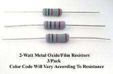 560-Ohm 2-Watt Metal Oxide/Film 2% Resistors: Mfg. NTE: 3/Pack: Great Price