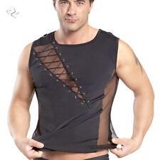 """T-Shirt transparent Netz Swingerclub Herren Hemd Bilitas neu S M L XL XXL """"Paul"""""""