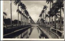 Rio de Janeiro BRASILE BRASIL BRAZIL VINTAGE POSTCARD ~ 1940 Canal du MANGUE