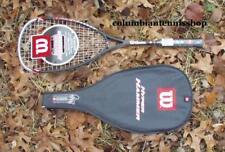 12 New Wilson Hyper Hammer 165G HH 165 Squash Racquet / case HH 165 new grip