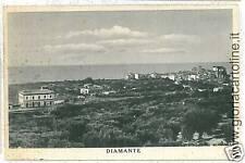 CARTOLINA d'Epoca: COSENZA - DIAMANTE - PANORAMA 1949