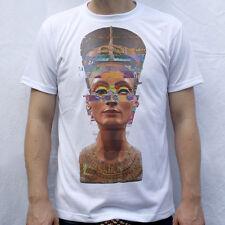 Nefertiti T shirt Glitched Sculpture