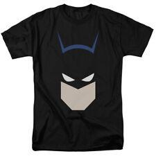 Batman Bat Head Mens Short Sleeve Shirt Black