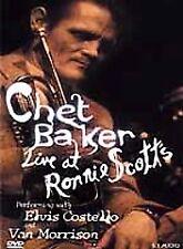 Chet Baker - Live at Ronnie Scott's NEW DVD 1986 Jazz Concert, Elvis Costello, V