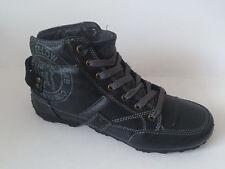 Yellow Cab Terror Gr. 31 Jungen Sneaker Schuhe Schwarz Leder